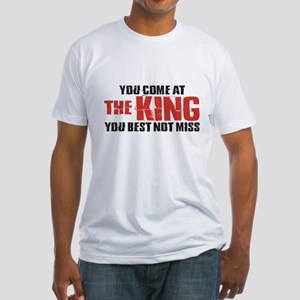 The King Fitted T-Shirt