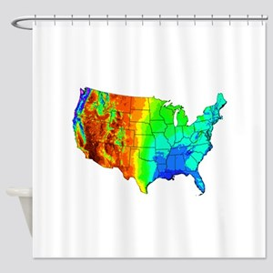 CLIMATE Shower Curtain