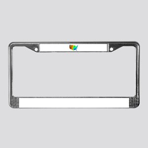 CLIMATE License Plate Frame