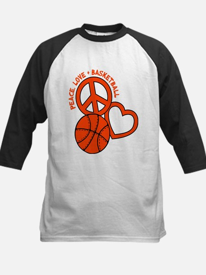 P,L,Basketball, neon orange Baseball Jersey