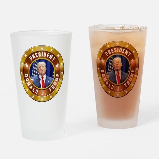 Donald Trump Drinking Glass