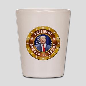 Donald Trump Shot Glass
