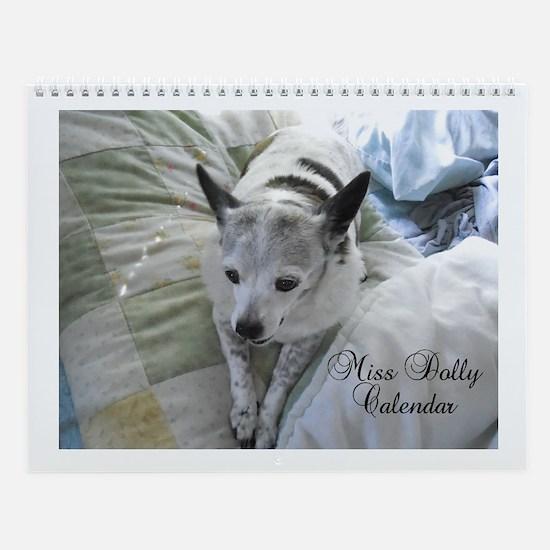 Miss Dolly Wall Calendar