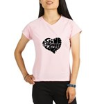 Give Kindness and Love Performance Dry T-Shirt