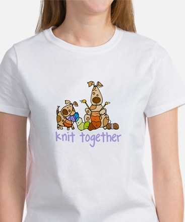 Knit together II Ash Grey T-Shirt