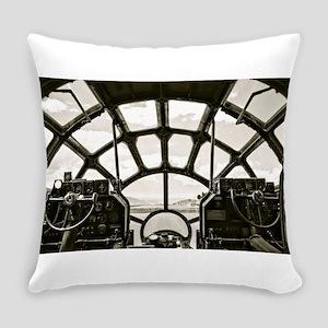 B-29 Cockpit Everyday Pillow