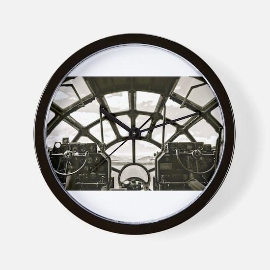 B-29 Cockpit Wall Clock