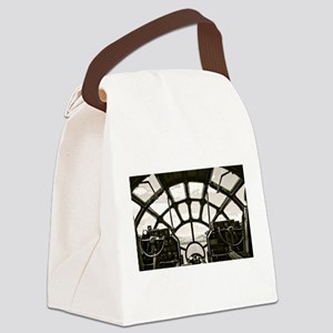 B-29 Cockpit Canvas Lunch Bag