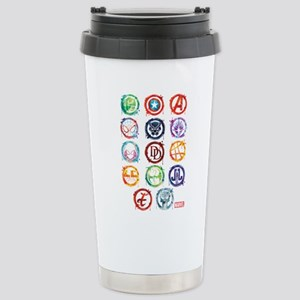 Marvel Icon Favorites S Stainless Steel Travel Mug