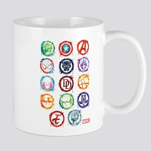 Marvel Icon Favorites Splatter Mug