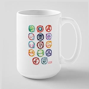 Marvel Icon Favorites Splatter Large Mug