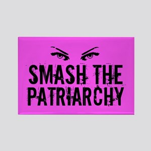Smash Patriarchy Rectangle Magnet