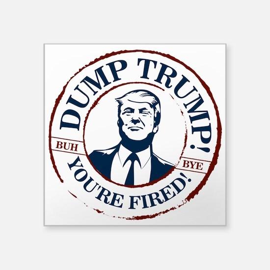 Dump Trump! Sticker