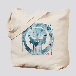 Punisher Grunge Icon Tote Bag