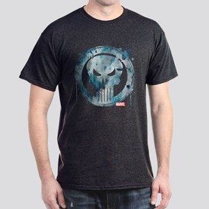 Punisher Grunge Icon Dark T-Shirt