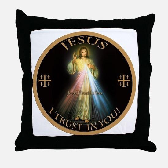 Cute Catholic Throw Pillow