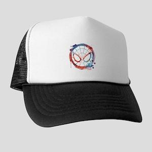 Spider-Man Icon Splatter Trucker Hat