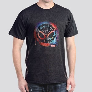 Spider-Man Icon Splatter Dark T-Shirt