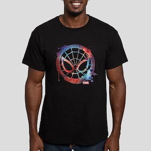Spider-Man Icon Splatt Men's Fitted T-Shirt (dark)