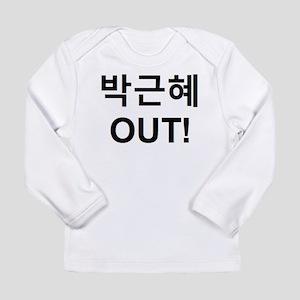 Park Geun-Hye OUT! Long Sleeve T-Shirt