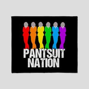 Pantsuit Nation Throw Blanket
