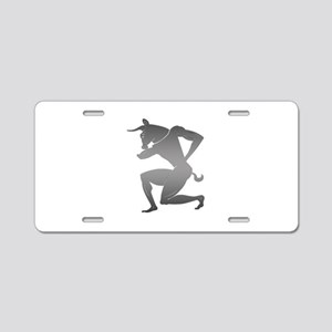 Ancient Greek Minotaur Aluminum License Plate