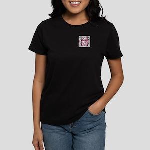 Monogram - Hay Women's Dark T-Shirt