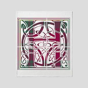 Monogram - Hay Throw Blanket