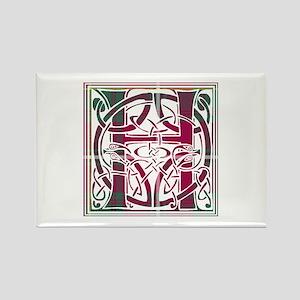 Monogram - Hay Rectangle Magnet