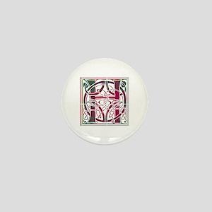 Monogram - Hay Mini Button