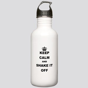 KEEP CALM AND SHAKE IT OFF Water Bottle