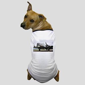 B-17 Bomber Airplane Dog T-Shirt