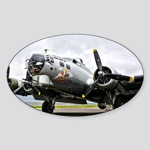 B-17 Bomber Airplane Sticker