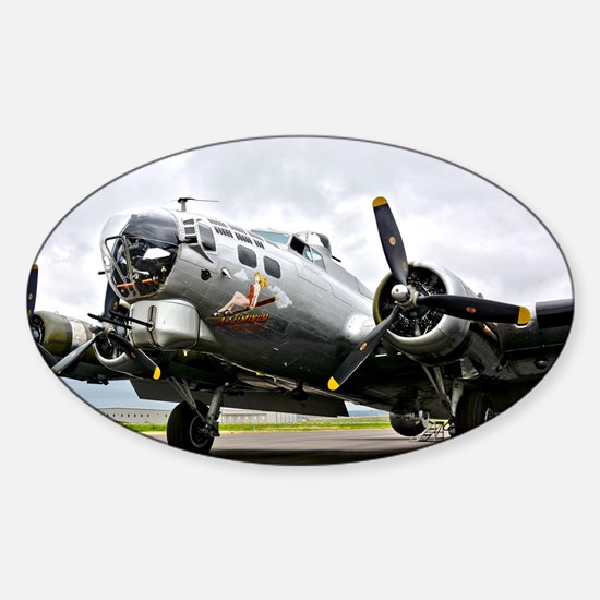 B-17 Bomber Airplane Decal