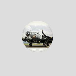 B-17 Bomber Airplane Mini Button
