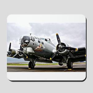 B-17 Bomber Airplane Mousepad