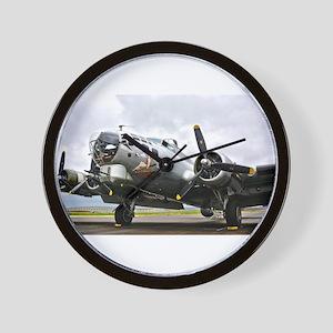 B-17 Bomber Airplane Wall Clock