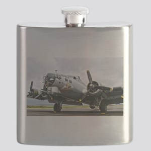 B-17 Bomber Airplane Flask
