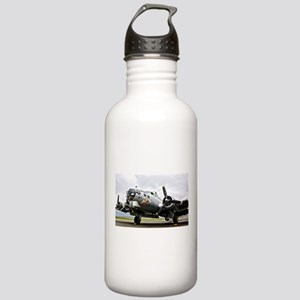 B-17 Bomber Airplane Water Bottle