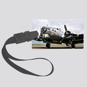 B-17 Bomber Airplane Luggage Tag
