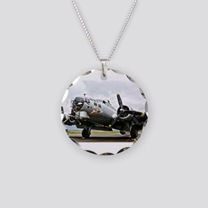 B-17 Bomber Airplane Necklace