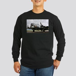 B-17 Bomber Airplane Long Sleeve T-Shirt