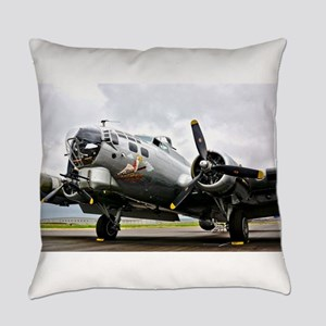 B-17 Bomber Airplane Everyday Pillow