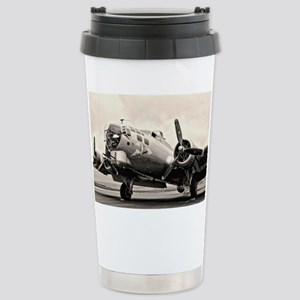 B-17 Bomber Aircraft Travel Mug