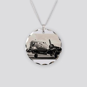 B-17 Bomber Aircraft Necklace