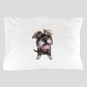 Mini Schnauzer002 Pillow Case