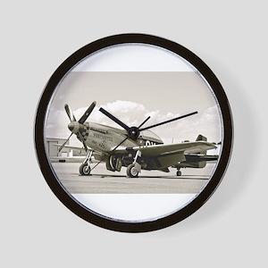 P-51 Airplane Wall Clock