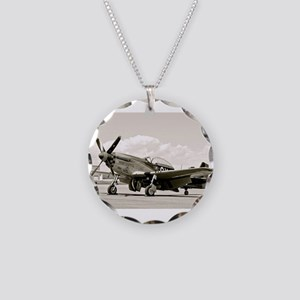 P-51 Airplane Necklace