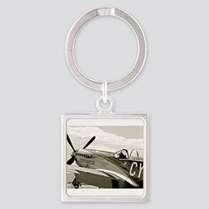P-51 Fighter Plane Keychains
