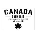 Canada Cannabis Postcards (Package of 8)